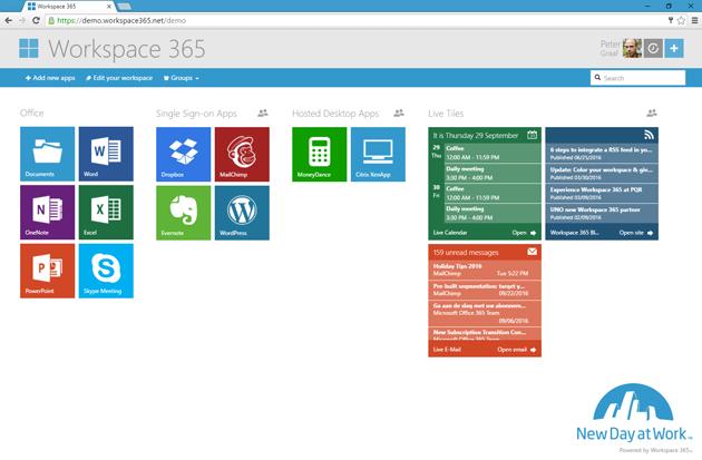 Workspace 365: Online werkplek bovenop Office 365 & RemoteDesktops
