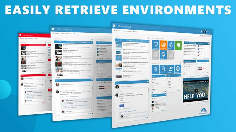 Retrieve environments Workspace 365